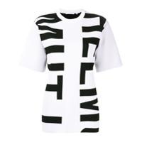 Helmut Lang Logo Print T-Shirt - Preto