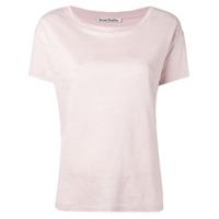 Acne Studios Camiseta Eldora - Rosa
