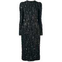 Dolce & Gabbana Vestido Midi Tubinho - Preto