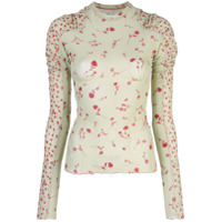 Charlotte Knowles Blusa Halcyon - Verde
