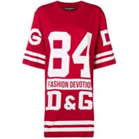 Dolce & Gabbana Underwear Camiseta Oversized - Vermelho
