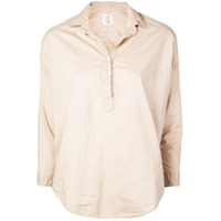 A Shirt Thing Blusa Clássica - Marrom