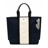 Bally Bolsa Tote Color Block - Azul