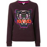 Kenzo Blusa De Moletom 'tiger' - Vermelho