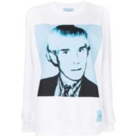 Calvin Klein Jeans Moletom 'andy Warhol' - Branco