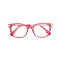 Fendi Eyewear Armação De Óculos Quadrada - Rosa