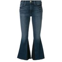Frame Calça Jeans Flare Cropped - Azul