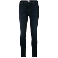 J Brand Calça Jeans Skinny Com Cintura Alta - Azul