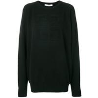Givenchy Suéter Com Logo - Preto