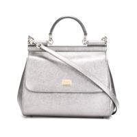 Dolce & Gabbana Bolsa Tote Modelo 'sicily' - Metálico
