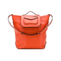 Stée Pouch Pocket Shoulder Bag - Laranja
