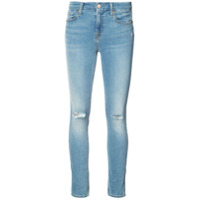 7 For All Mankind Calça Jeans Skinny - Marrom
