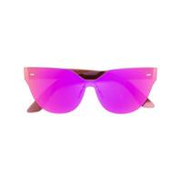 Retrosuperfuture Óculos De Sol 'zizza' - Roxo