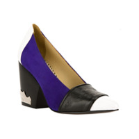 Toga Sapato Azul E Preto