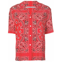 Alexander Wang Camisa Com Estampa De Bandana - Vermelho