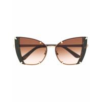 fb27ba231 Dolce & Gabbana Eyewear Óculos De Sol Gatinho - Preto ...