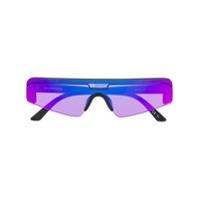 Balenciaga Eyewear Óculos De Sol Retangular - Preto