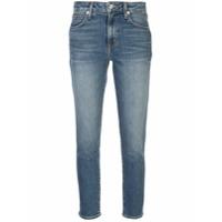 Slvrlake Calça Jeans Skinny Com Efeito Desbotado - Azul