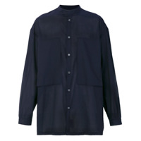 E. Tautz Camisa 'lineman' - Azul