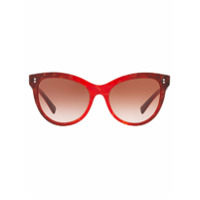 Valentino Eyewear Óculos De Sol Gatinho - Vermelha