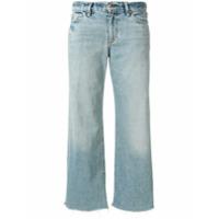 Simon Miller Calça Jeans Cropped - Azul