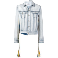 Loewe Asymmetric Denim Jacket - Azul