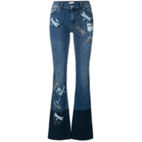 Red Valentino Calça Jeans Bootcut - Azul