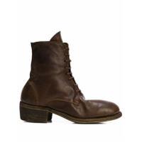Guidi Lace-Up Ankle Boots - Marrom