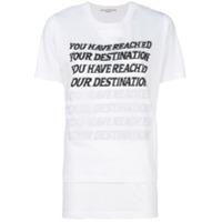 Stella Mccartney Blusa 'you Have Reached Your Destination' - Branco