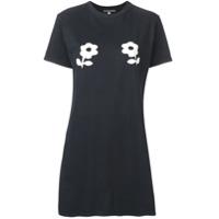 Alexa Chung Camiseta Com Estampa Floral - Preto