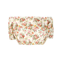 Forte Dei Marmi Couture Blusa Cropped Estampada - Neutro