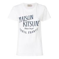 Maison Kitsuné Camiseta 'palais Royal' - Branco