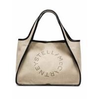 Stella Mccartney Bolsa Tote Com Logo - Neutro
