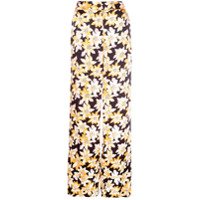 Cinq A Sept Calça Pantalona Floral - Estampado