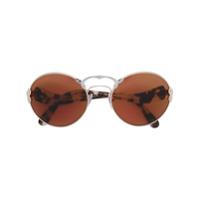 Prada Eyewear Óculos De Sol Redondo - Neutro