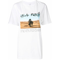 Lala Berlin Camiseta 'delta Desert' - Branco