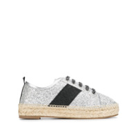 Kendall+Kylie Jury Lace-Up Espadrilles - Cinza