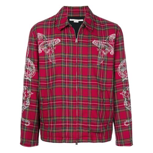 Stella McCartney Camisa xadrez - Vermelho