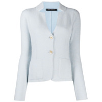 Iris Von Arnim Cut-Out Detail Cardigan - Azul