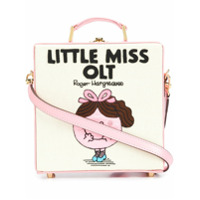 Olympia Le-Tan Bolsa Tote 'little Miss Olt' De Couro - Rosa