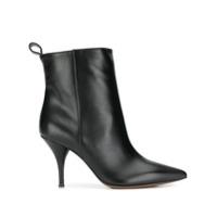 L'autre Chose Ankle Boot Bico Fino - Preto