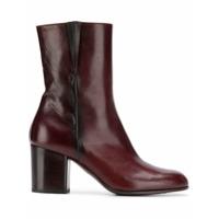 Pantanetti Ankle Boot Com Zíper - Roxo