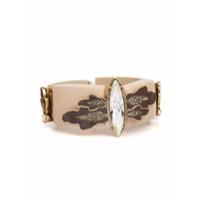 Camila Klein Bracelete De Resina - Ouro Velho