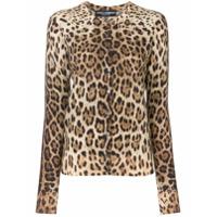 Dolce & Gabbana Cardigan Com Estampa - Neutro