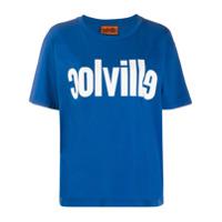 Colville Camiseta Com Estampa De Logo - Azul