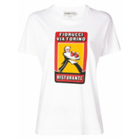 Fiorucci Camiseta Decote Arredondado - Branco