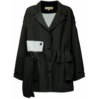 Ruban Oversized Fit Jacket - Preto