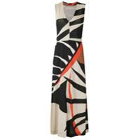 Osklen Vestido Longo Tropical De Tricô - Estampado