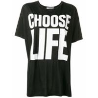 Katharine Hamnett London Camiseta Oversized - Preto