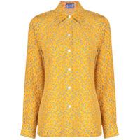 Lhd Camisa Estampada - Amarelo